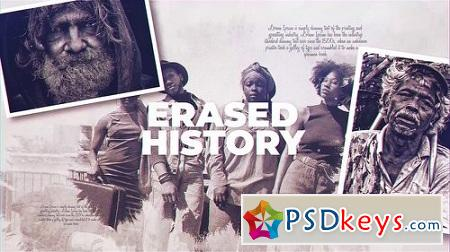 Erased History 23078374 After Effects Project