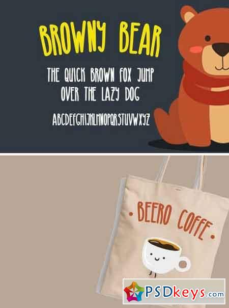 Browny Bear Font