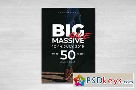 Big Massive Sale Flyer