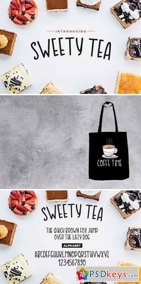 Sweety Tea Font