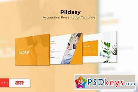 Pildasy Accounting Powerpoint, Keynote, Google Sliders Templates