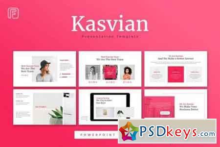 Kasvian - Powerpoint, Keynote, Google Sliders Templates