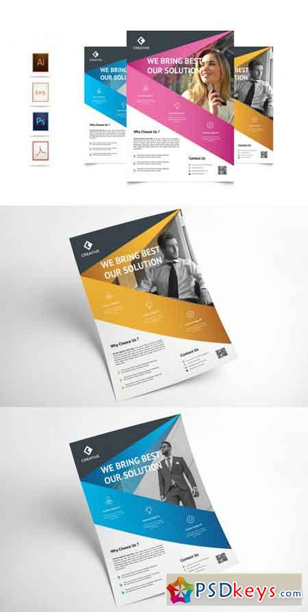 Corporate Business Flyer Template Vol 4 3521949
