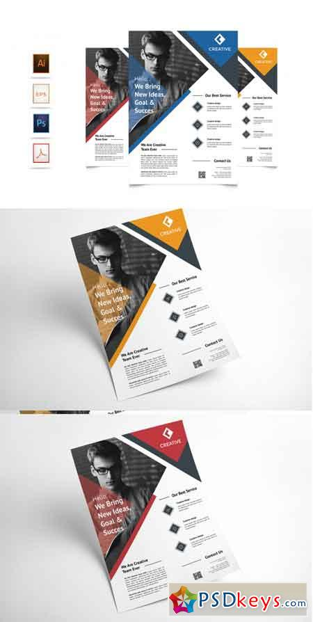 Corporate Business Flyer Template Vol 2 3521643