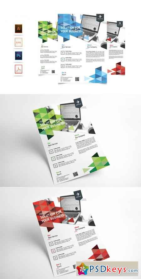 Corporate Business Flyer Template Vol 6 3521964