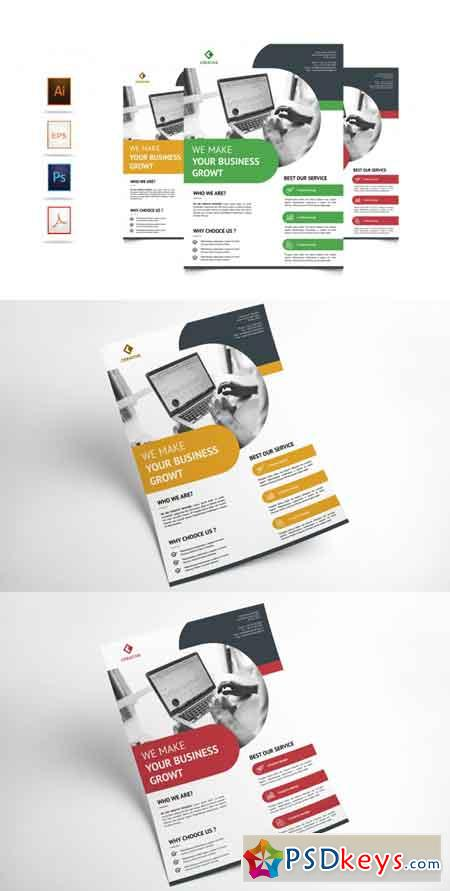 Corporate Business Flyer Template Vol 5 3521961