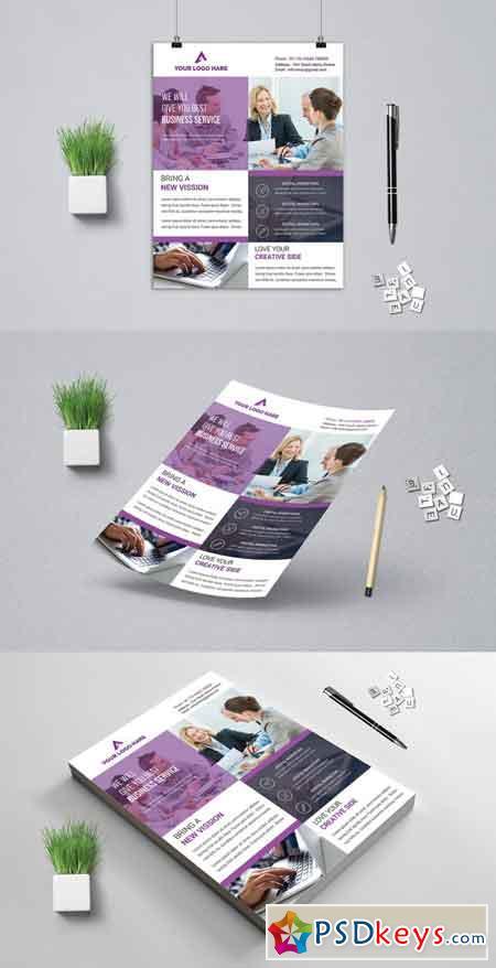 Corporat Business Flyer 3521678