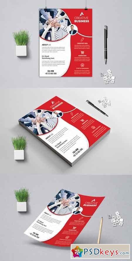 Corporat Business Flyer 3521693