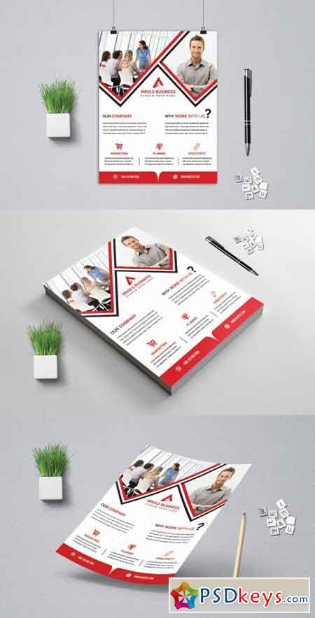 Corporat Business Flyer 3521659