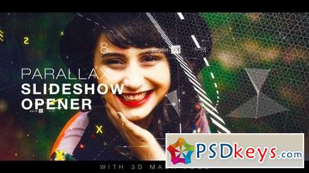 Parallax Slideshow Opener 19117776 After Effects Project