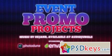 Event Promo 8130711 After Effects Project