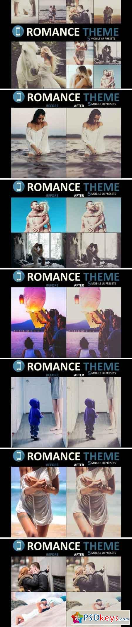 Neo Romance mobile lightroom presets theme 3522576