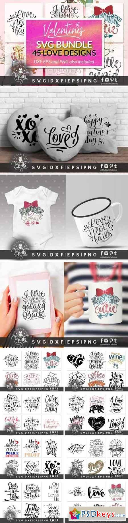 Valentine vector hand draw hearts 875892