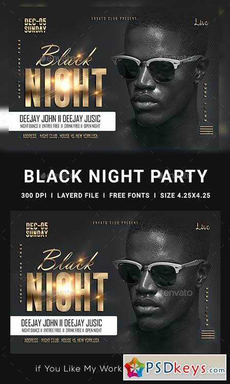 Ladies Night Club Flyer 23147649