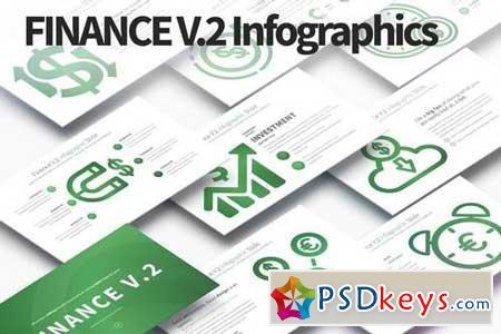 Finance V.2 - PowerPoint Infographics Slides