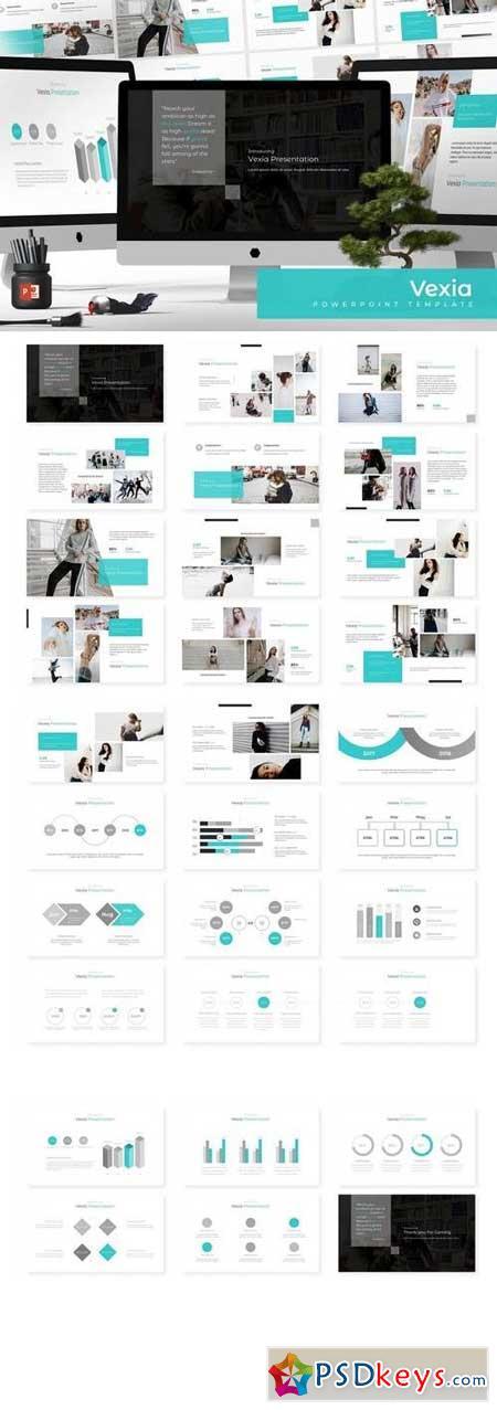 Vexia - Powerpoint, Keynote, Google Sliders Templates