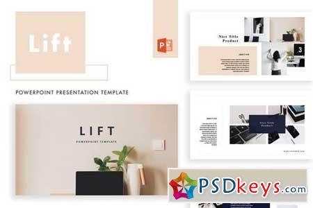 Lift - Powerpoint, Keynote Templates