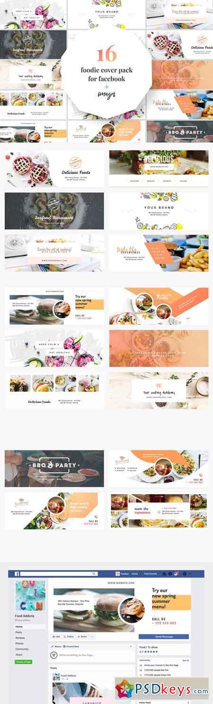 Foodie Facebook Cover Pack 2285579