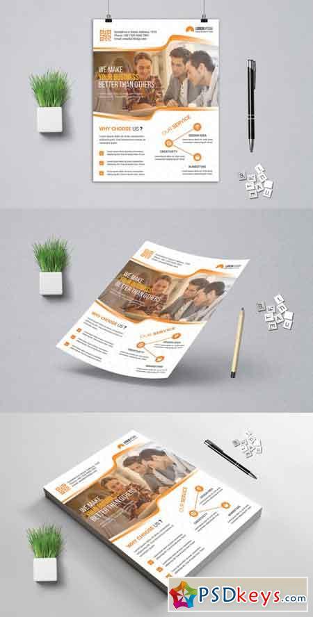 Corporat Business Flyer 3523201