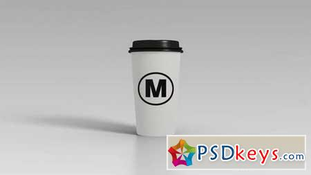 Coffee Cup Logo Reveal 162348 After Effects Projects