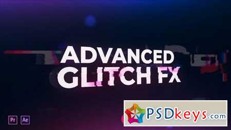 Advanced Glitch FX 153960 After Effects Projects