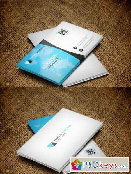 Stylish Corporate Business Card 3523273