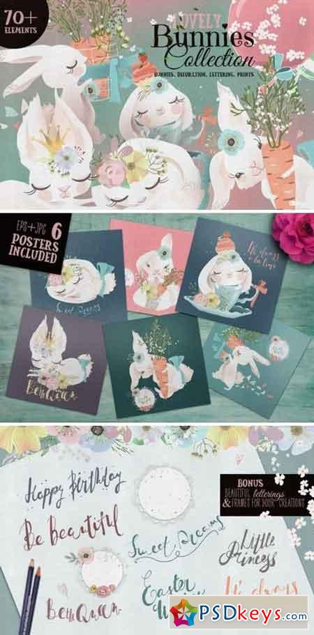 Lovely Bunnies Collection 2227677