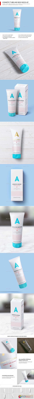 Cosmetic Tube Mockup Matte 23173618