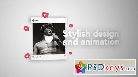 MotionArray Instagram Stylish Presentation 161984 After Effects Project