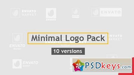 Minimal Logo Pack 10 Versions 20479756 After Effects Project