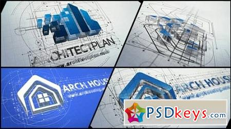 Architect Logo Reveal 22143007 After Effects Project