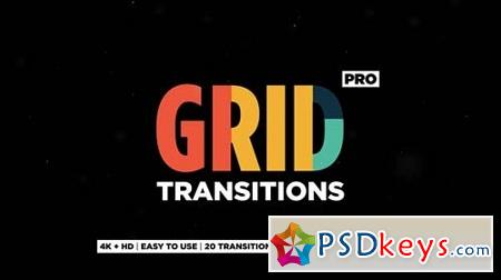 Grid Transitions 23154591 After Effects Project
