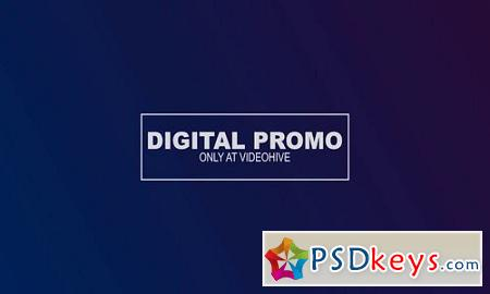 Digital Promo 20606261 After Effects Project