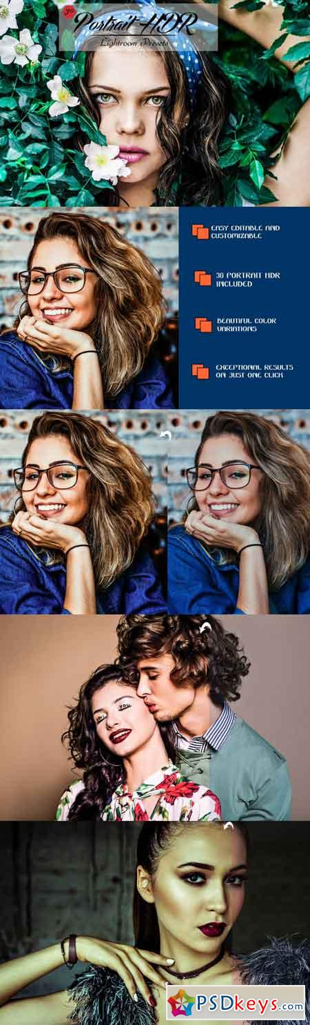 30 Portrait HDR Lightroom Presets 3522626