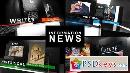 Videohive Information News 8988330 After Effects Project