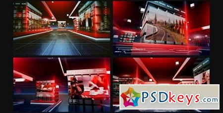 Videohive News Opener 7159886 After Effects Project