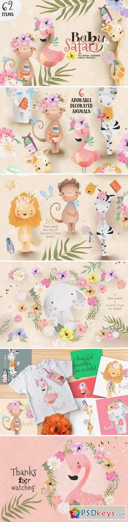Baby Safari Collection 2260364