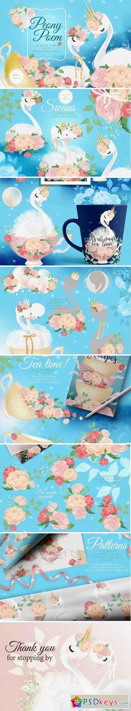 Peony Poem - Tea Time 2421335