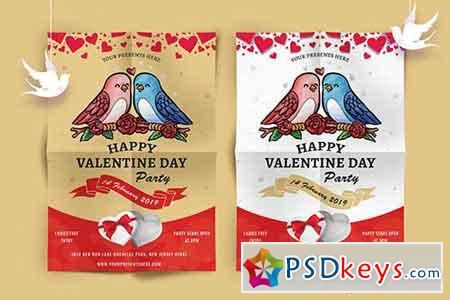 Valentines Day Party Flyer-07