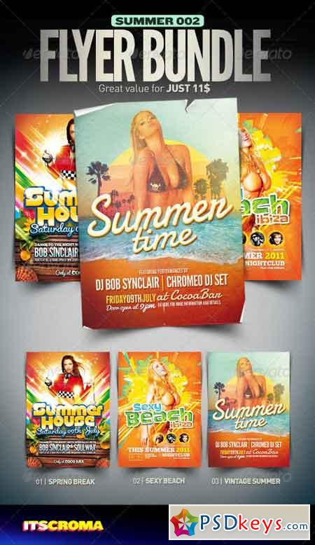 Summer Flyer Bundle 002 2919567