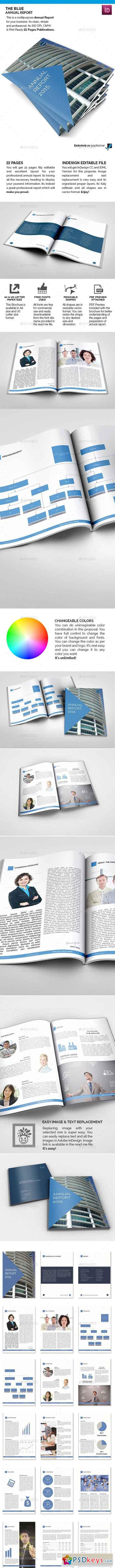 The Blue Annual Report 9149949