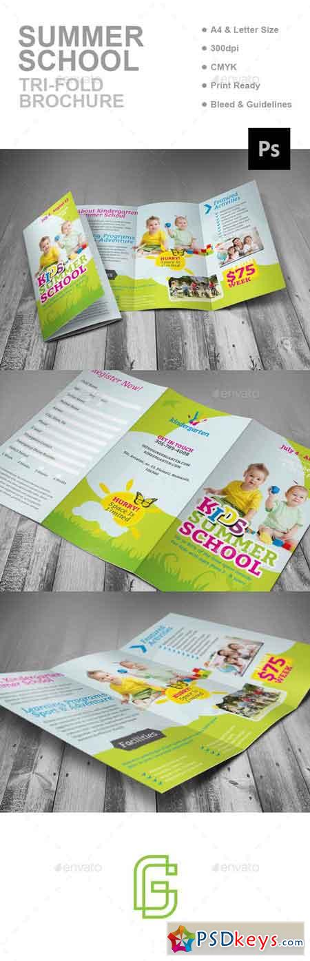 Summer School Trifold Brochure 16997379