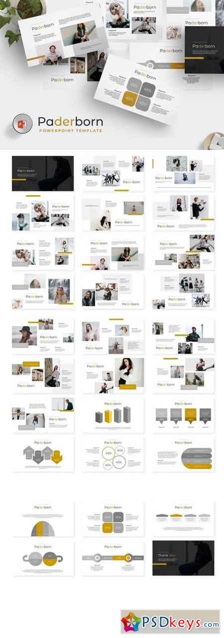Paderborn - Powerpoint, Keynote, Google Sliders Templates