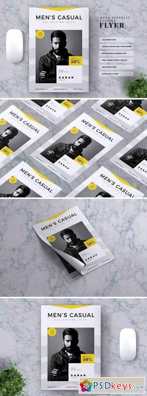 MEN'S REPUBLIC Fashion Flyer