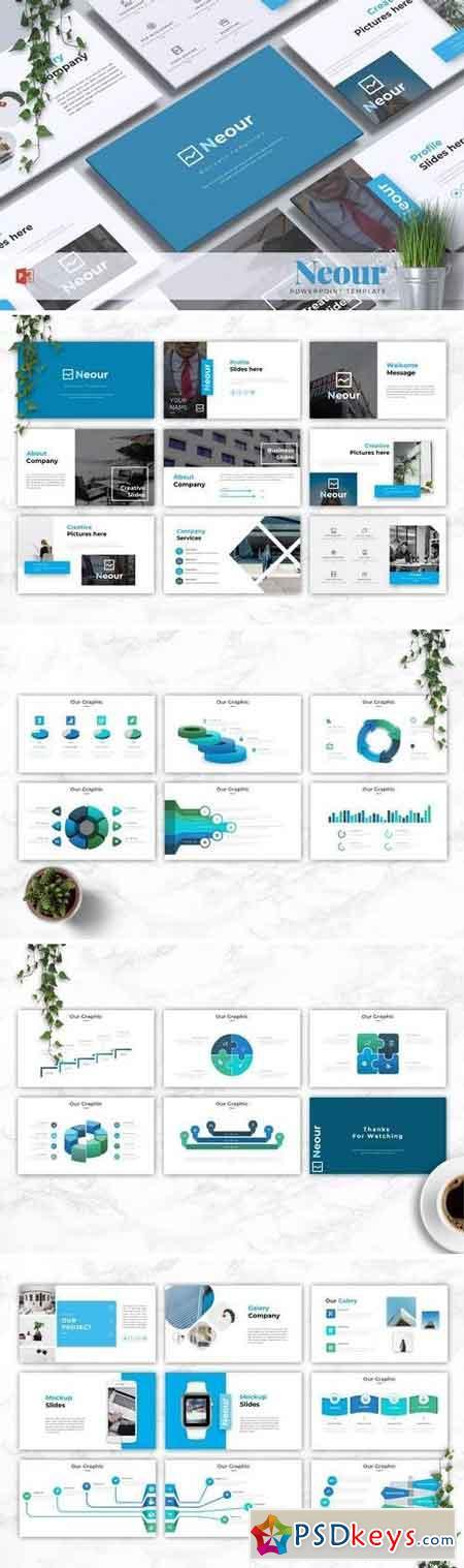 NEOUR - Powerpoint, Keynote, Google Sliders Templates