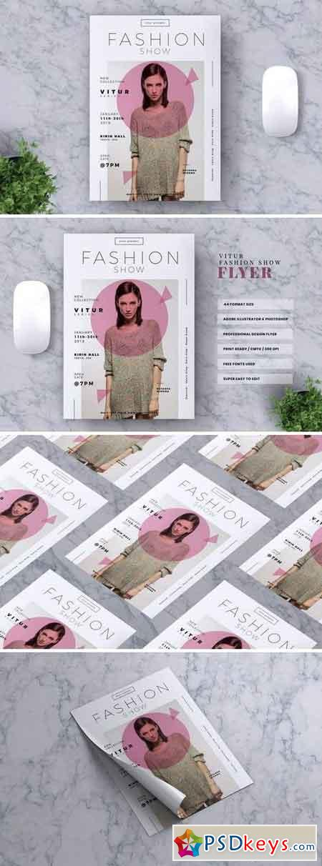 VITUR Fashion Show Flyer