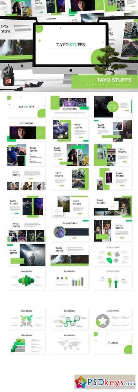 Tayo - Powerpoint, Keynote, Google Sliders Templates