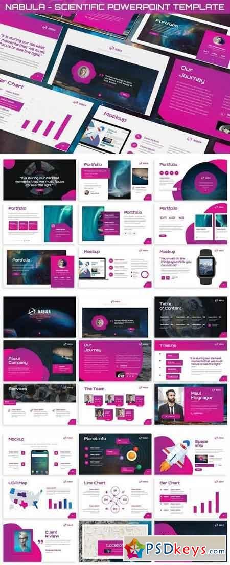 Nabula - Scientific Powerpoint Template