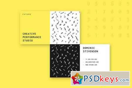 Future Creative Business Card Template