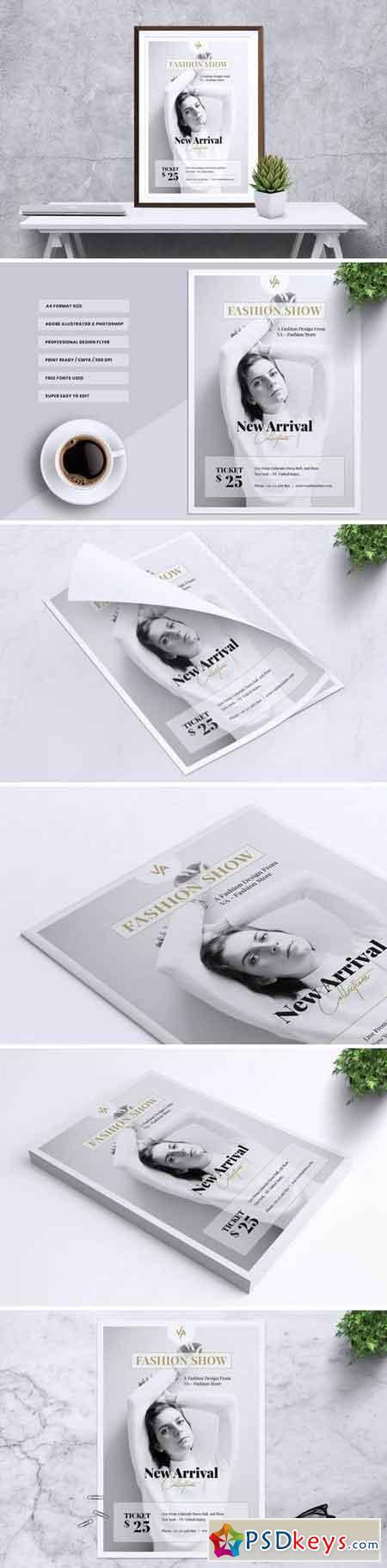 VA Fashion Show Flyer